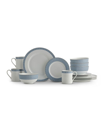 Mallorca 16-Piece Dinnerware Set