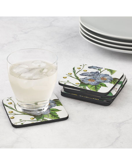 Stafford Blooms Coasters, Set of 6