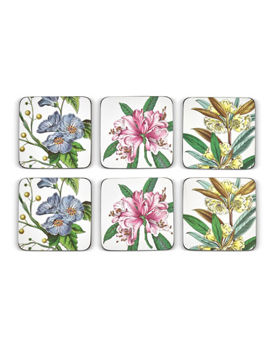 Stafford Blooms Coasters  Set of 6