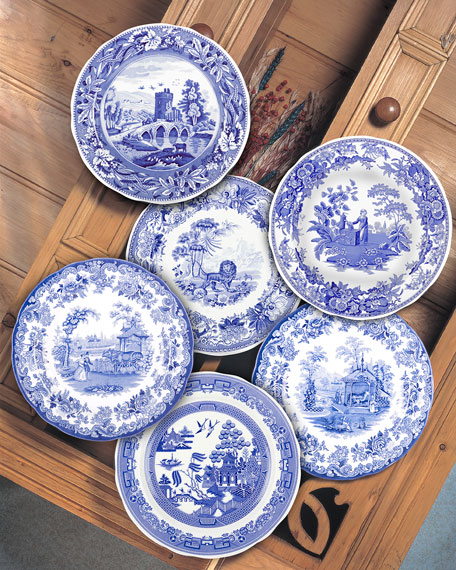 Blue Room Traditions Plate Set