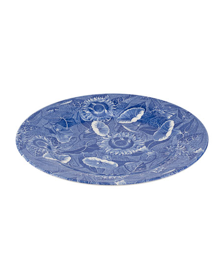 Blue Room Sunflower Dinner Plates, Set of 4