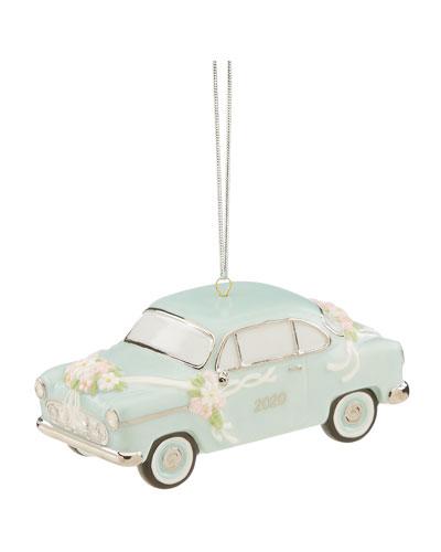 2020 Just Married Vintage Car Ornament