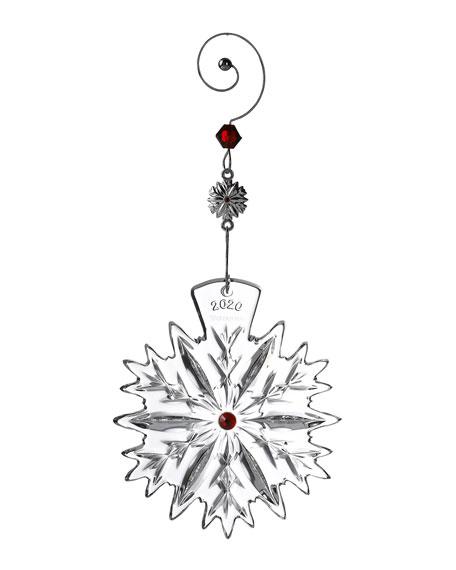Snowflake Wishes Love Ornament 2020