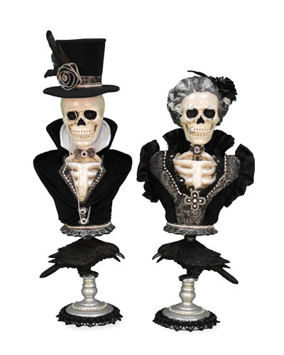 Winston & Victoria Skeletons