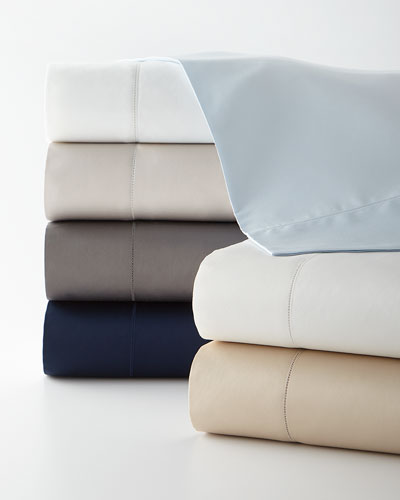 Organic Sateen Queen Fitted Sheet