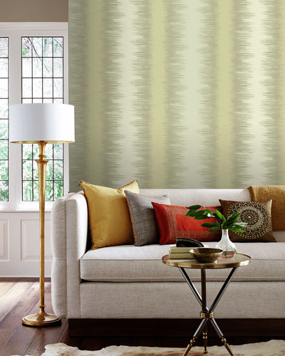 Quill Stripe Wallpaper Sample