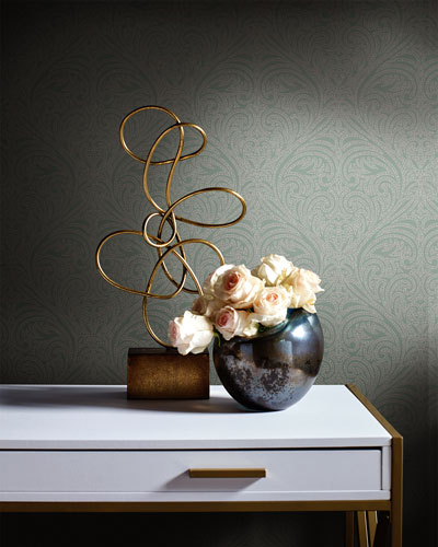 Romance Damask Wallpaper Sample