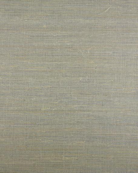 Metallic Jute Wallpaper Sample
