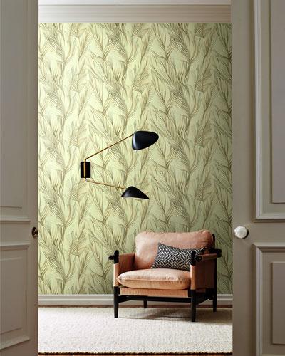 Peaceful Plume Wallpaper Sample