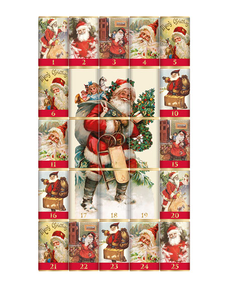 Traditional Santa Advent Calendar