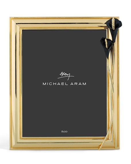 Michael Aram Calla Lily Midnight Frame, 8