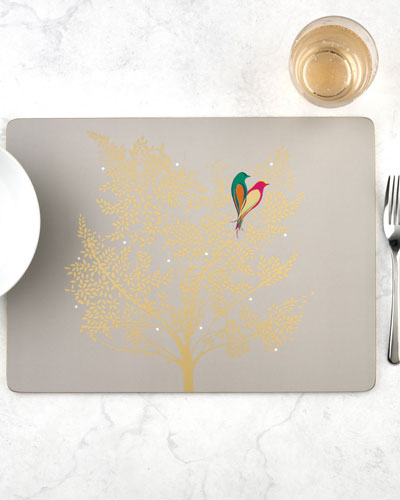 Sara Miller Chelsea Collection Placemats  Set of 4