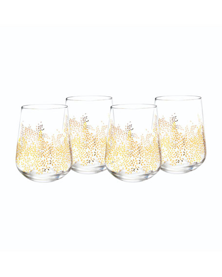 Portmeirion Sara Miller Stemless Wine Glasses, Set of