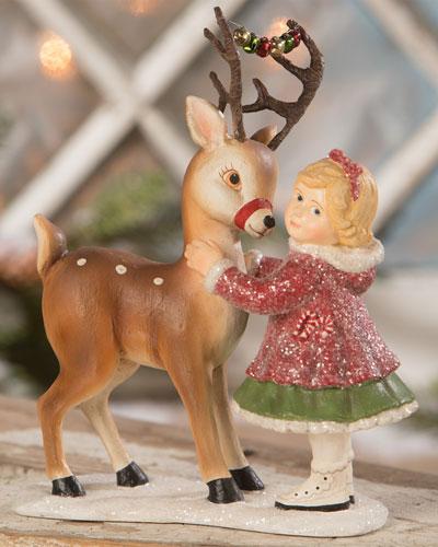 Maya Dressing Reindeer