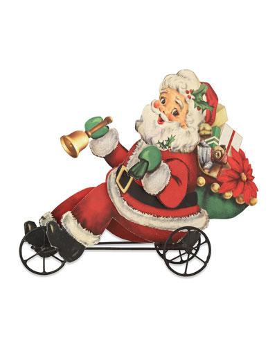 Santa on Trike Decoration