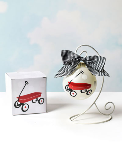 Limited Edition 2019 St. Jude Red Wagon Ornament  Personalized