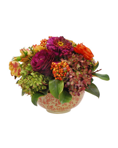 Mix Floral in Long Life Bowl