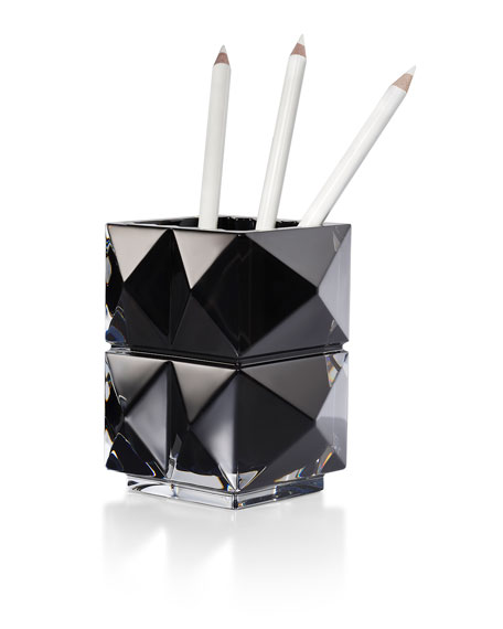 Baccarat Louxor Black Pencil Holder