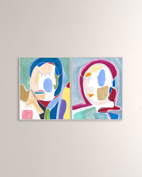 """I Want You Around II"" Giclee on Canvas Wall Art"