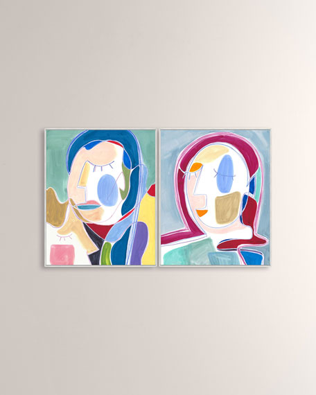 """I Want You Around III"" Giclee on Canvas Wall Art"