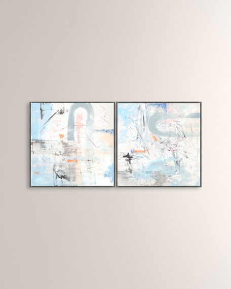 """Windstorm I"" Two-Piece Art Set"