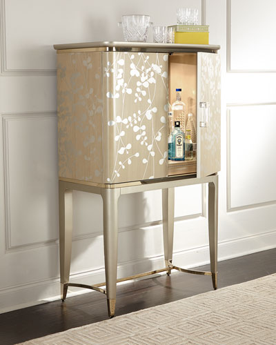 A New Leaf Bar Cabinet