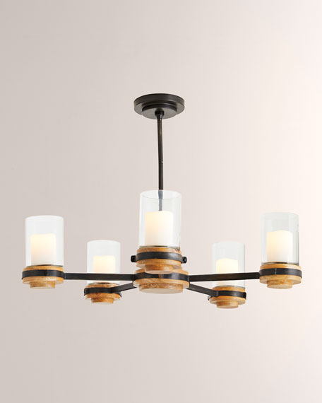 Beth Webb for Arteriors Sumter Candle Chandelier