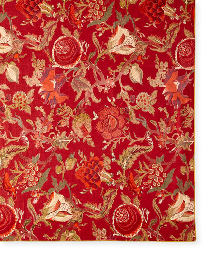 """Sequoia Berry 60"""" x 90"""" Tablecloth"""