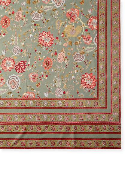 "Malabar Thyme 72"" x 108"" Tablecloth"