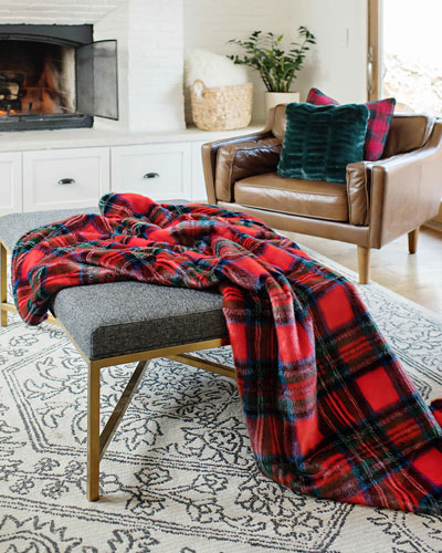 Holiday Collection Throw