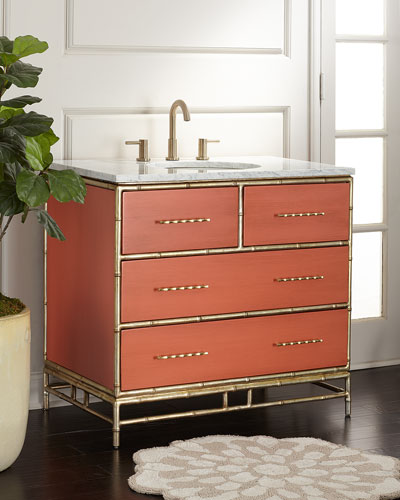 Chinoiserie Sink Chest