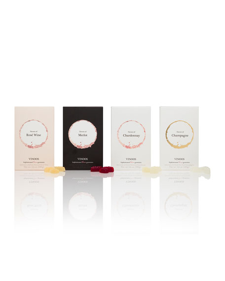 Flavors of Champagne Wine Gummies