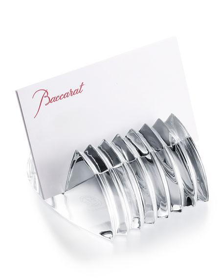 Baccarat Lalande Business Card Holder