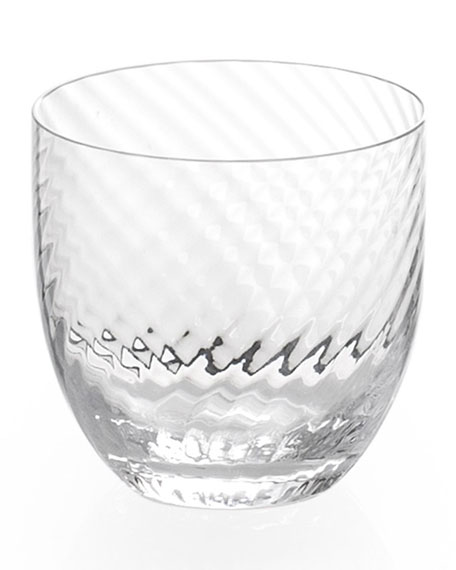 Twist Diamond Double Old-Fashioned Glass
