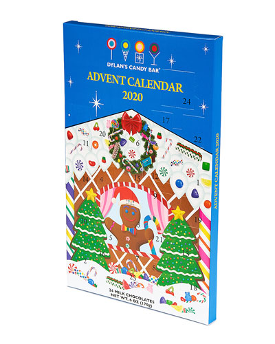 Christmas Candy Countdown Advent Calendar