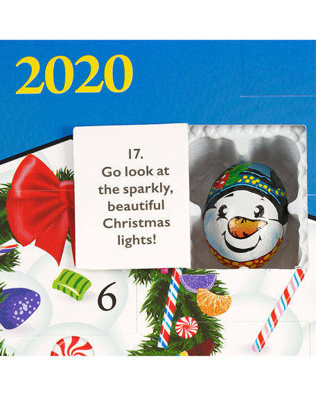 Christmas Candy Countdown Advent Calendar