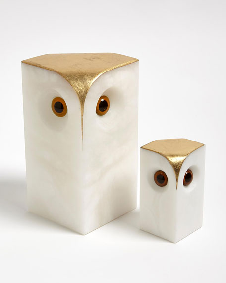 Alabaster Owl - Large