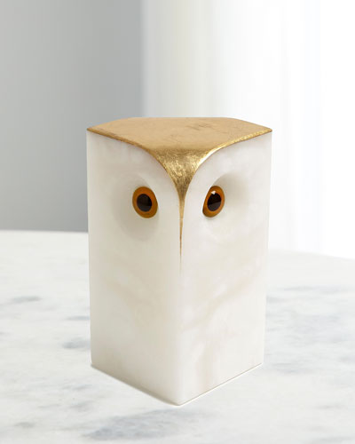 Alabaster Owl - Large