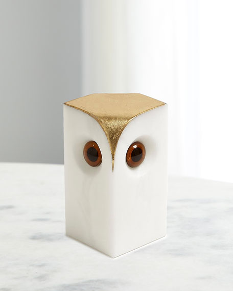 Alabaster Owl - Small