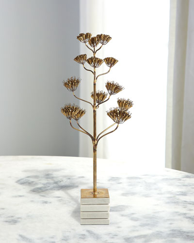 Blooming Century Plant Sculpture - Large