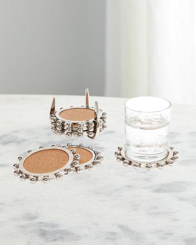 Starburst Crown Coasters  Set of 6