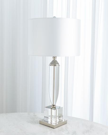 Classic Crystal Urn Lamp