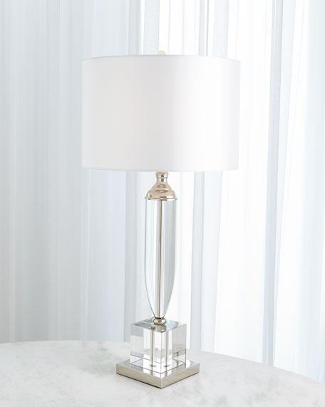 Global Views Classic Crystal Urn Lamp