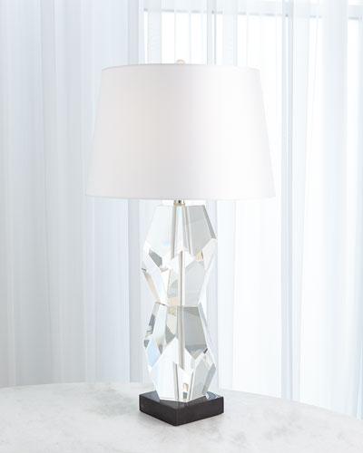 Facet Block Lamp