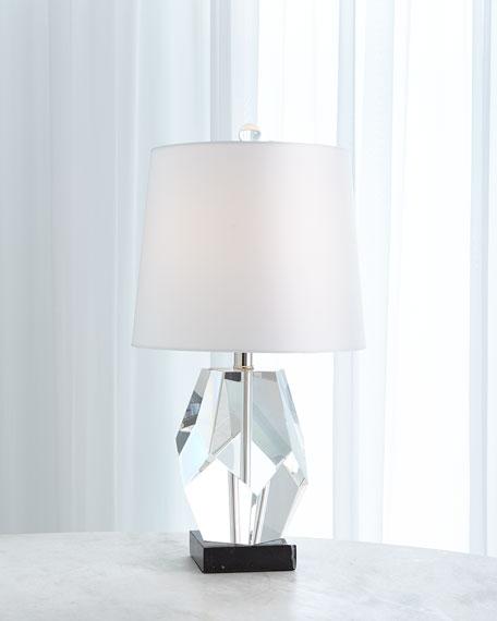Global Views Facet Block Lamp