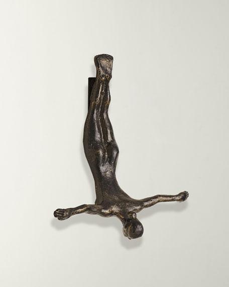 Female Wall Diver, Bronze