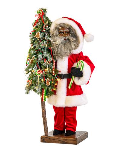 Holiday Sweets Black Santa  29