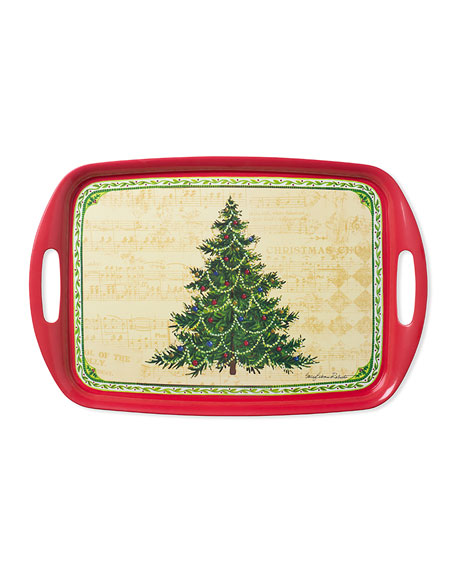 Merry Christmas Tree Tray