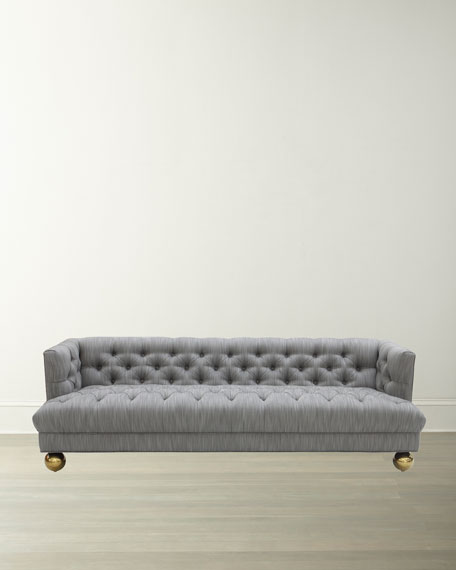 Baxter T-Arm Sofa with Ball Feet