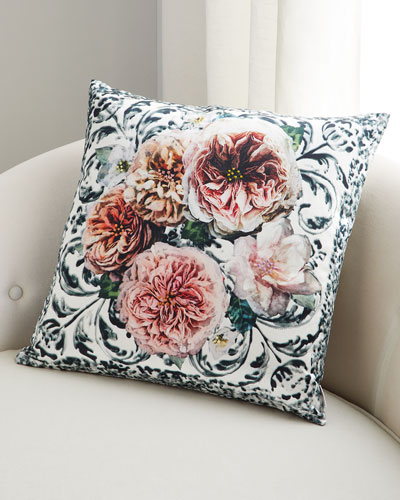 Pahari Damask Pillow